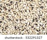 Black Eyed Beans Texture...