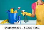 cleaning. | Shutterstock . vector #532314553