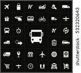 bus transport icon. delivery... | Shutterstock . vector #532320643