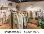 clothing store clothes | Shutterstock . vector #532344073