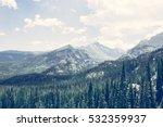 Mountain Peaks   Rocky Mountai...