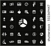 credit icons universal set for... | Shutterstock . vector #532369447