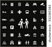 city icons universal set for... | Shutterstock . vector #532385383