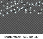 set of realistic color garlands ... | Shutterstock .eps vector #532405237
