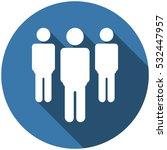 people icon vector flat design... | Shutterstock .eps vector #532447957