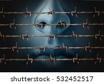 concept of censorship and... | Shutterstock . vector #532452517