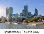 city of london one of the... | Shutterstock . vector #532456837
