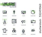 Mass Media Line Pixel Style...