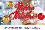 businessman on blurred... | Shutterstock . vector #532462537
