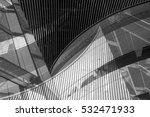 black and white double exposure ... | Shutterstock . vector #532471933
