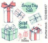 vector holiday illustration set.... | Shutterstock .eps vector #532488457