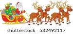the night before christmas ... | Shutterstock .eps vector #532492117