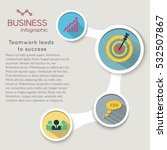 business infographic elements... | Shutterstock .eps vector #532507867