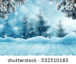 merry christmas and happy new... | Shutterstock . vector #532510183