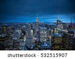 The New York City In The Night...
