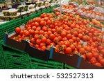 vegetables in supermarket | Shutterstock . vector #532527313