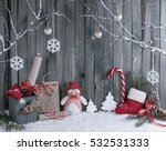 Christmas Interior With...
