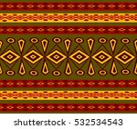 ethnic abstract bright pattern... | Shutterstock .eps vector #532534543