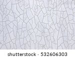 wall with cracks around. | Shutterstock . vector #532606303