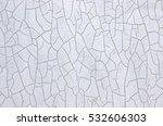 wall with cracks around. | Shutterstock . vector #532606303