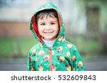 half length portrait of a... | Shutterstock . vector #532609843