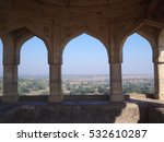 the pavilion of rani roopmati... | Shutterstock . vector #532610287