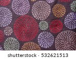 Embroidered Fabric By Hand Fro...