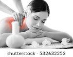 healthy beautiful woman spa.... | Shutterstock . vector #532632253