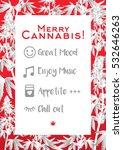 merry christmas recreational... | Shutterstock .eps vector #532646263