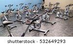 indoor stationary bikes for... | Shutterstock . vector #532649293