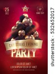 christmas poster or flyer... | Shutterstock .eps vector #532652017