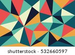 abstract geometric mid century... | Shutterstock .eps vector #532660597
