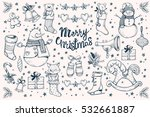 et of vector  christmas... | Shutterstock .eps vector #532661887