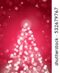 abstract christmas tree by... | Shutterstock .eps vector #532679767