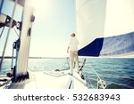 sailing  age  tourism  travel... | Shutterstock . vector #532683943