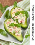 Avocado Stuffed With Crab ...