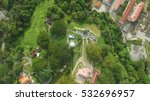 Top Down Aerial View Of Ancien...