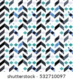 multicolor chevron style...   Shutterstock .eps vector #532710097