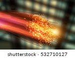 Optical Fibres Dinamic Flying...