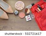 women's accessories. concept of ... | Shutterstock . vector #532721617