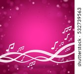 purple music square background | Shutterstock .eps vector #532739563