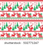 new year's christmas pattern... | Shutterstock .eps vector #532771267