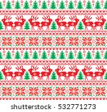 new year's christmas pattern... | Shutterstock .eps vector #532771273