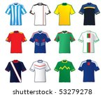 football teams shirt | Shutterstock .eps vector #53279278