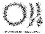hand drawn vector illustration. ... | Shutterstock .eps vector #532792933