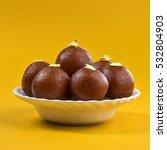 indian dessert or sweet dish  ... | Shutterstock . vector #532804903