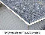 bitumen tile roof. roof... | Shutterstock . vector #532839853