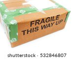 One Wrapped Up Fragile Parcel...