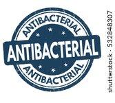 antibacterial grunge rubber...   Shutterstock .eps vector #532848307