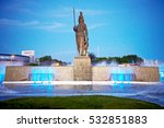 historical monument in... | Shutterstock . vector #532851883